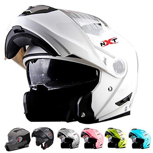 NXT Moto FF860 Motorbike Helmet Motorcycle Moped Scooter FLIP UP Modeler...