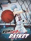 Kuroko s Basketball Calendar 2022: 16-month mini Calendar from Sep 2021 to Dec 2022 for all fans