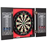 EastPoint Sports Belmont Bristle Dartboard and Cabinet Set - Features...