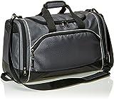 Amazon Basics - Sporttasche, Größe S, Graphitgrau