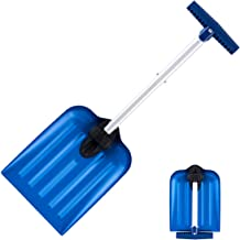 ORIENTOOLS Emergency Snow Shovel Suitable for Car or Truck Storage, Adjustable and Collapsible Folding Garden/Sport Utility Shovel (8