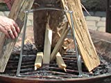 FIRE STUMP. A Specially Designed Stand to Help Create and Maintain The Perfect Tee Pee Style fire. Works Great as a Campfire Cook Stand.