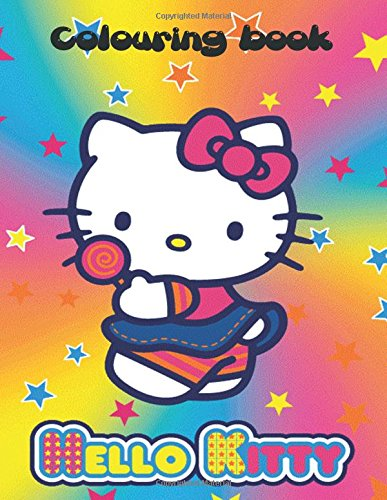 Hello Kitty: Hello Kitty colouring book, great for kids aged 3+. This great book has 70 pages to colour in an A4 book. Great for entertaining the ... for a nice birthday gift as well Christmas.