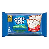 Pop-Tarts Breakfast Toaster Pastries, Whole Grain Frosted Strawberry Flavored, Bulk Size, 144 Count (Pack of 12, 21.1 oz Boxes)