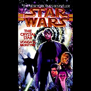Star Wars: The Crystal Star audiobook cover art