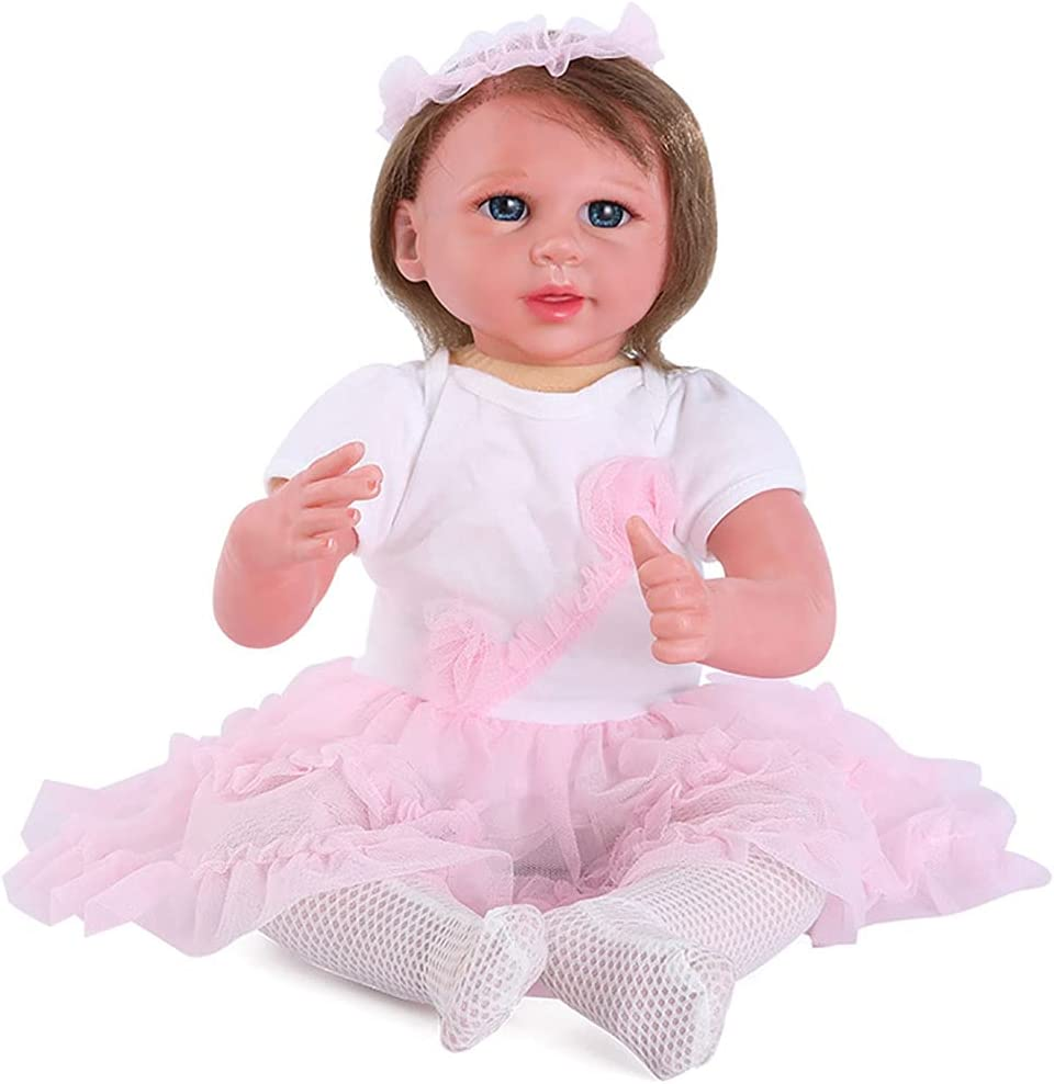 WSJQB Rebirth Max 73% OFF Doll Limited time for free shipping Soft to Baby Reborn Lifelike The Touch
