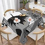 Succulents On Grey Jumbo Mantel cuadrado de mesa de centro de 120 x 150 cm, utilizado para banquetes bufé, cocina, catering y fiestas