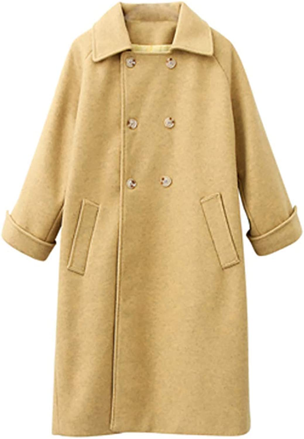Women's Trench Coat Winter Jacket Belt