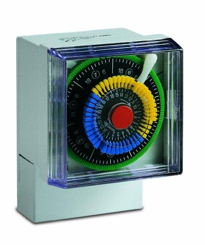 Sesam QSU 72 twu Elektromechanische Tag-Woche-Zeitschaltuhr mit Gangreserve circa 150 h, 72 x 72