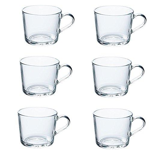 IKEA 365+ Becher aus Klarglas; (24cl); 6 Stück