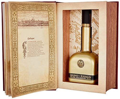 Legend of Kremlin Russian Vodka de Luxe Gold Limited Edition mit Geschenkverpackung (1 x 0.7 l)