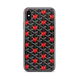iPhone X/XS Pure Clear Case Cases Cover red Comme Love