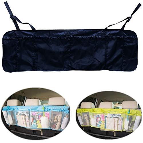 FUVOYA Organizador de Botas de Coche, Topist Multi Pocket Coche Backseat Organizador Cofre de Almacenamiento del Asiento Trasero Organizador Bolsa de almacenaje