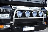 Percha de lámpara de acero inoxidable para camiones específicos del vehículo para abajo.