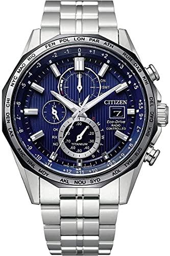 Citizen Men's Chronograph Eco-Drive Uhr mit Titan Armband AT8218-81L