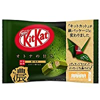 キットカット ミニ オトナの甘さ 濃い抹茶 12枚 ×36袋(12袋×3ケース)