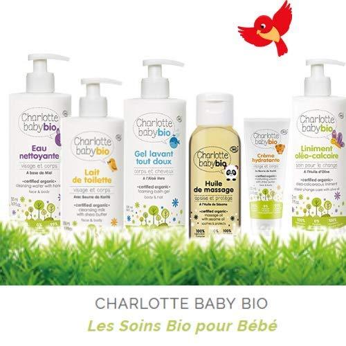 CHARLOTTE BABY BIO - Les Soins BIO pour Bébé - Crème Hydratante - Au Beurre de Karité - 50 ml -...