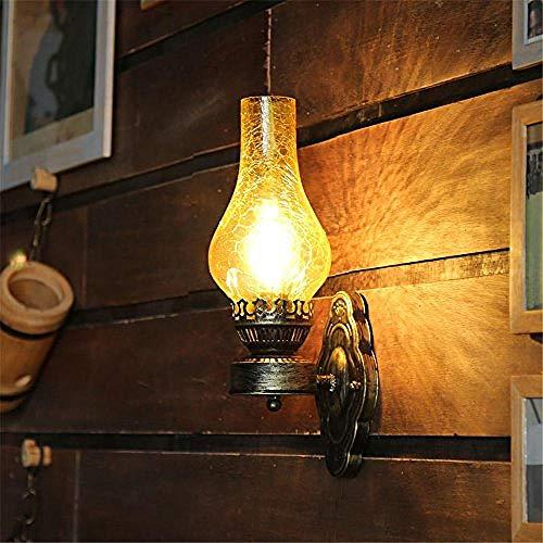 Lamp wandlamp, wandlamp, wandlamp, E26/27, basis van de Chinese wandlamp, aansteker voor oude oliën