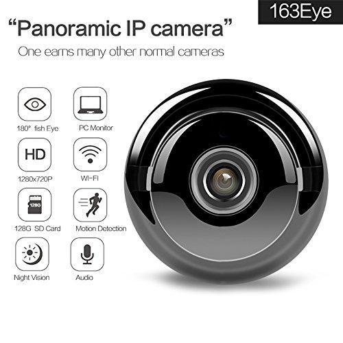 Nueva cámara IP panorámica Landing de 2 MP 1080P desmontable de 180 grados