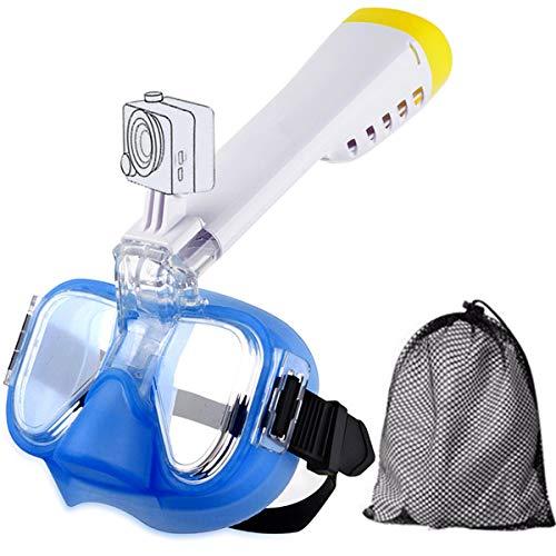NOTENS Tauchmaske, Anti-Fog-Tauchmaske Tauchmaske Schwimm Training Scuba Panorama Ansicht mit Einem Adapter für Action-Cam
