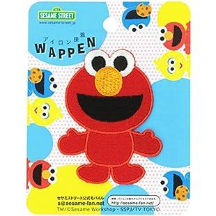 Inagaki clothing Sesame Street die cut emblem Elmo iron bonding SSW001:Schedulingsoftware