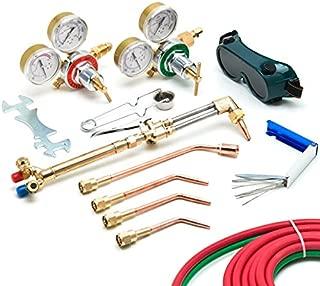 KapscoMoto Biltek Victor-Style Oxygen Acetylene Welding Cutting Kit Precision Brazing Soldering