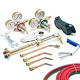 Kapsco Moto Victor-Style Oxygen Acetylene Welding Cutting Kit Precision Brazing Soldering