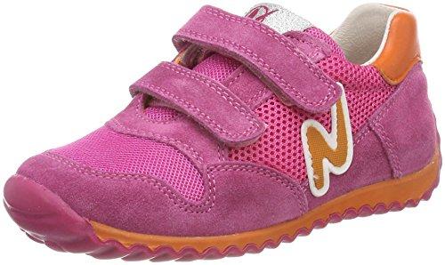 Naturino Mädchen Sammy. Hohe Sneaker, Mehrfarbig (Fuxia-Arancio), 22 EU