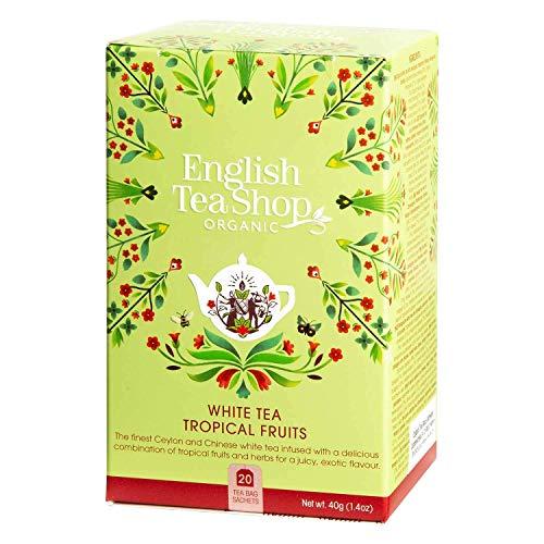 English Tea Shop - Weißer Tee Tropische Früchte, BIO, 20 Teebeutel