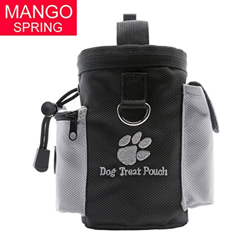 Pet Dog Treat Pouch Dog Training Treat Belly Bags Afneembare Doggie Pet Feed Pocket Puppy Snack heuptas