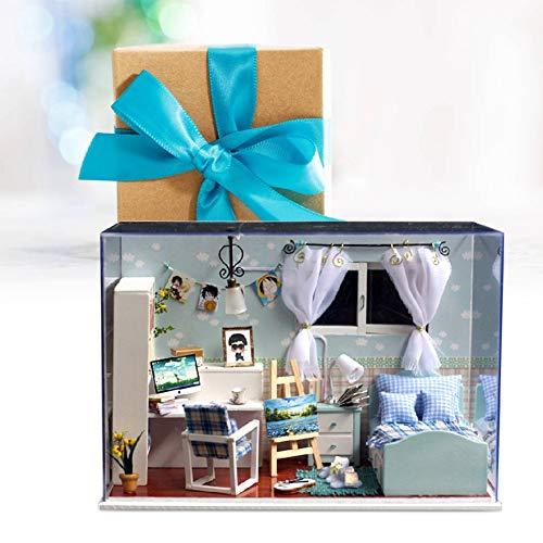 Erstellen Sie Ihr Haus Entzückendes DIY Handcraft Haus, Hausdekoration, DIY Geschenkbüro für Home Decoration Schlafzimmer