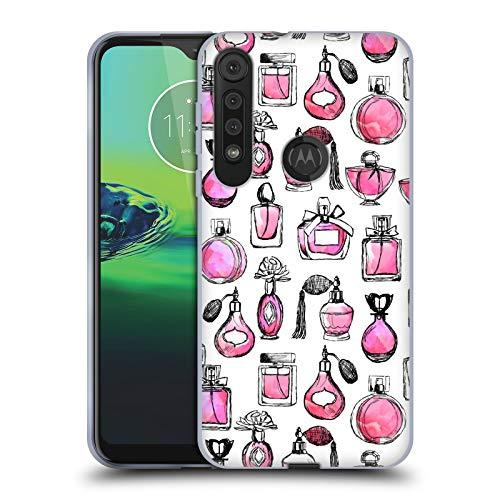 Officiële Andrea Lauren Design Parfums Dame zoals Soft Gel Case Compatibel voor One Macro/Moto G8 Play