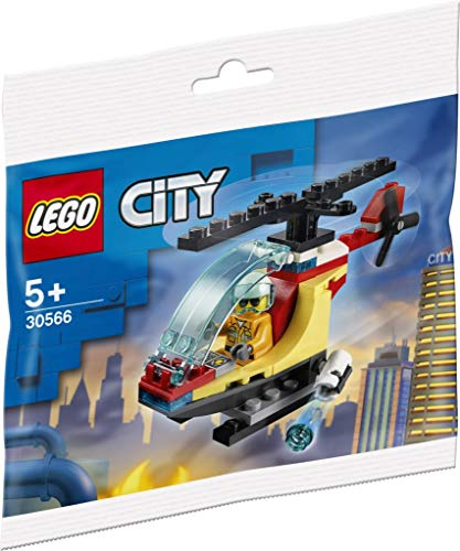 LEGO City Fire Helicóptero Polybag Set 30566 (Embolsado)