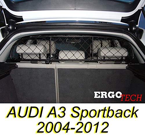 ERGOTECH Trennnetz Trenngitter Hundenetz Hundegitter für Audi A3 Sportback BJ 2004-2012