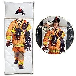 cheap FAO Schwarz Magical Adventure Firefighter Sleeping Bag