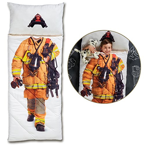 cheap FAO Schwarz Magical Adventure Firefighter Sleeping Bag