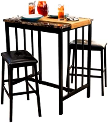 Amazon.com: homycasa 3 Pcs parte superior Cafe Bar BISTRO ...