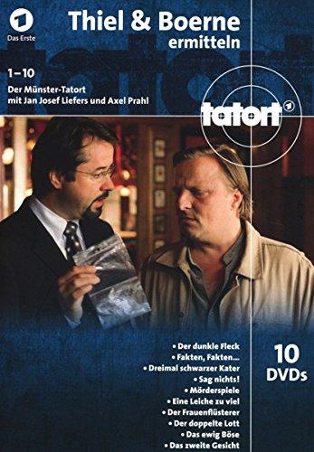 Tatort;(1)Thiel Und Boerne Ermitteln [10 DVDs]