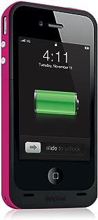 mophie juice pack Plus for iPhone 4/4S (2,000mAh) - Magenta