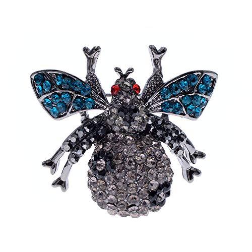 GLKHM Broche De Animal De Epoca Moda Abeja Broches Unisex Broche De Insectos Accesorios