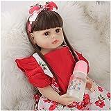 JLKDF MuñEcas Reborn - 22 Pulgadas 55 Cm MuñEca De Silicona - Silicona Blanda Bebé Reborn - Gift Set For Children