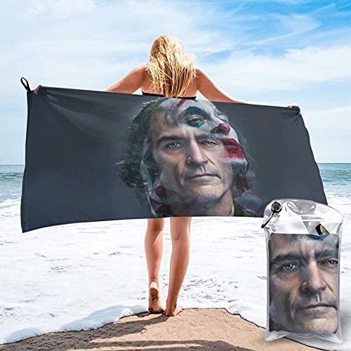 commodity Bob Kane joker payaso amor toallas de baño toallas de playa viaje absorción de agua Unisex impresión 3D Pascua