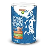 Primavita - Power Protein90 Mélange de protéines enrichi en 5sources de protéines complémentaires, goût chocolat, 350g (11 à 12portions)