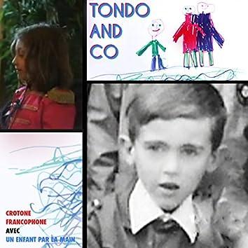 Crotone Francophone avec Un Enfant Par La Main