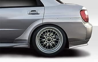 Vaero Duraflex Replacement for 2002-2007 Subaru Impreza WRX STI VRS Wide Body Rear Fender Flares