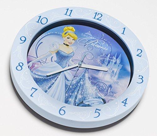Disney Cinderella wandklok analoog van kunststof in geschenkverpakking 25 cm 91013