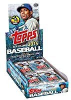 2015 Topps Series 1 Baseball Hobby Pack w/ 10 Cards - May Include AUTOGRAPH or Relic Card!