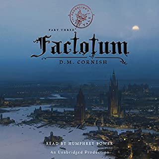 Factotum: The Foundling's Tale, Part Three audiobook cover art