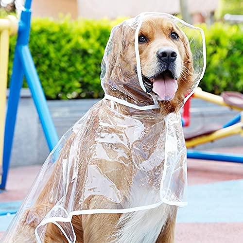 NC Impermeabile Pioggia Grande Cane Impermeabile Giacca Impermeabile Labrador Vestiti del Cane Poncho Golden Retriever Prodotti per Animali da Compagnia...