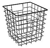 ClosetMaid 13033 Cubeicals Wire Storage Bin with Handles, Black